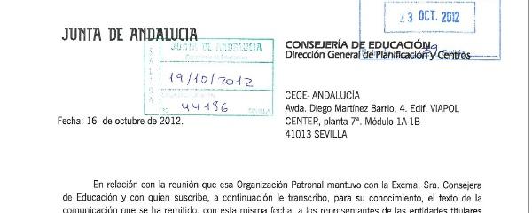 Andaluc a env a una carta ultim tum a la educaci n diferenciada - Pisos de la junta de andalucia ...