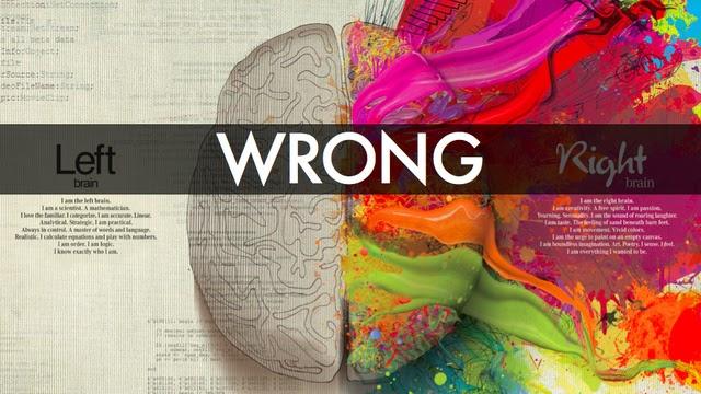 Infografía: Que lado del cerebro usas mas?