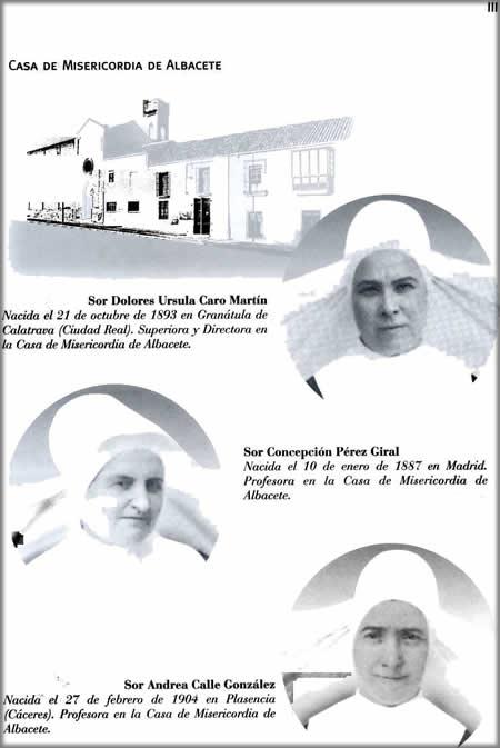 Las tres vicencianas asesinadas en Vallecas.
