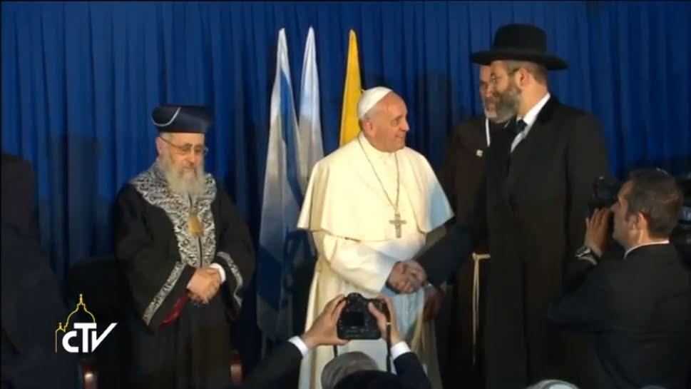 El Papa aboga por un mayor conocimiento mutuo de los vínculos espirituales que unen a judíos y cristianos